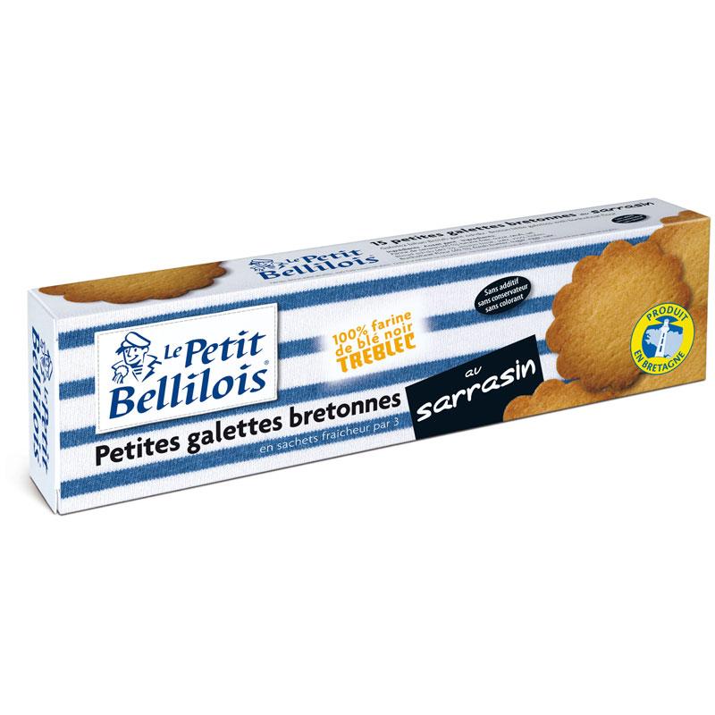Bretonische Butterkekse aus Buchweizenmehl