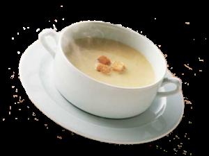 Bretonische Zwiebelsuppe Oignons rosés de Roscoff