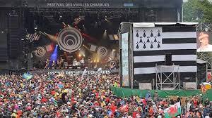 Konzert große Bühne - Festival Les Vieilles Charrues