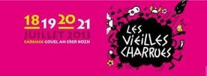 """Plakat 2013 """"Les vieilles charrues"""""""