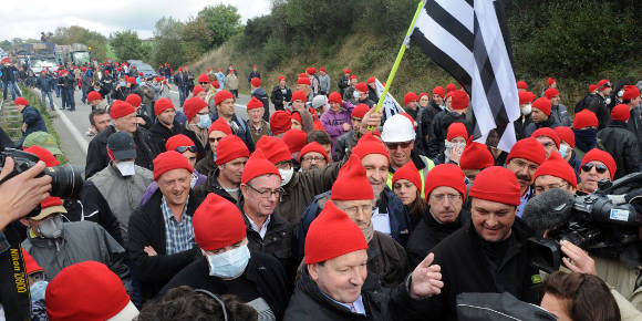 """Die bretonische Revolte der """"Bonnets Rouges"""""""