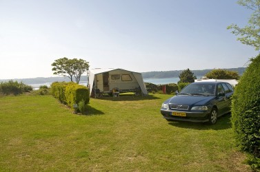 Camping in der Bretagne