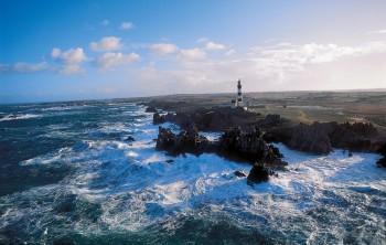 Phare du Créach Leuchtturm Bretagne