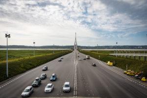 Anreise Auto Bretagne Pont de Normandie