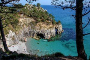 Strand der Île Vierge auf Crozon