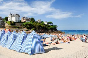 Am Strand L'Ecluse in Dinard