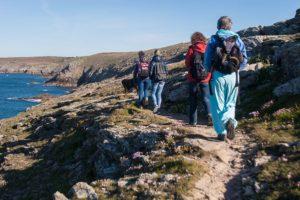 Wandern in der Finistère