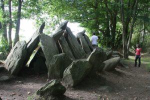 Dolmen in der Bretagne: Hier in Plobannalec-Lesconil
