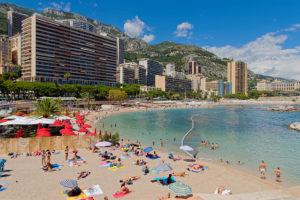 Plage du Larvotto Strand Monte Carlo