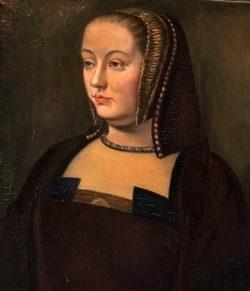 Gemälde Anne Königin Frankreich
