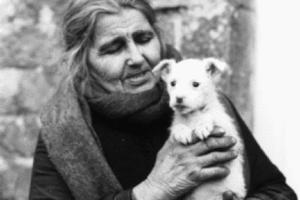 Die Dichterin Anjela Duval liebte das Landleben und ihre Tiere