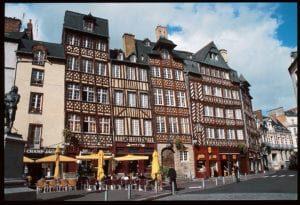 Rennes Fachwerkhäuser