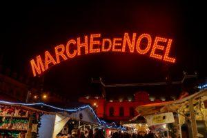 Weihnachten in der Bretagne : Hier der Weihnachtsmarkt i Rennes