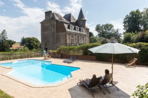 Ferienhaus Bretagne Pool