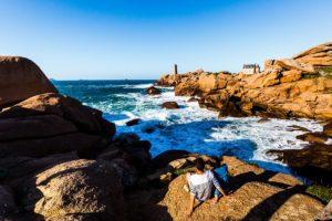Die Küsten der Bretagne